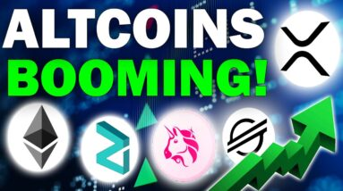Altcoins are BOOMING! (Watch These Super Undervalued Gems)