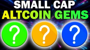 3 Small Cap Altcoins With HUGE Potential (Make Money With Crypto 2021)