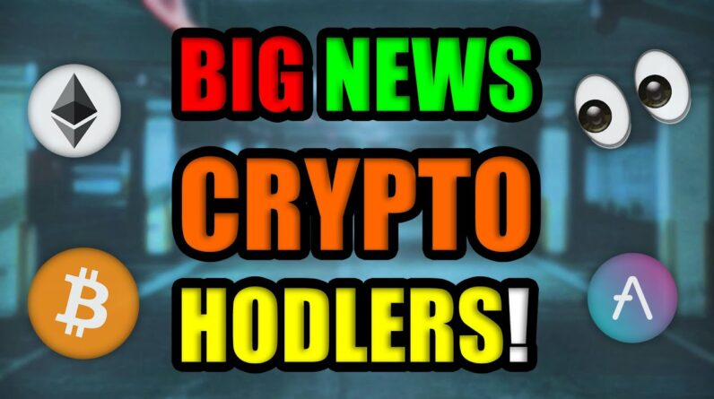 BIG THINGS ARE HAPPENING IN CRYPTOCURRENCY (Why Next 48 Hours Are HUGE)