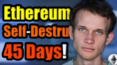 ETHEREUM WILL SELF-DESTRUCT IN 45 DAYS!! | Supply Shock INCOMING for Cryptocurrency Hodlers in July!