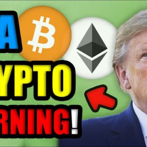 Donald Trump CRASHES Bitcoin Price! | Gives BIG WARNING for US Cryptocurrency Investors in June