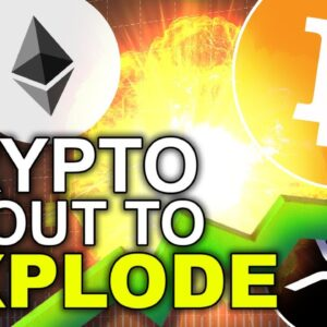 Bullish Crypto News! Bitcoin and Altcoins About to Explode!!
