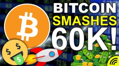 Bitcoin SMASHES 60k! (Next Most Important Levels for Crypto & Thank You for 200k!)